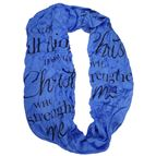 I CAN DO ALL INFINITY SCARF MANTILLA - 1