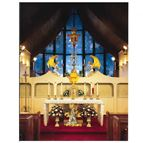 OUR LADY OF THE ANGELS CHAPEL NOTE CARDS (6-PACK) - 1