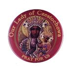 OUR LADY OF CZESTOCHOWA MAGNET - 1