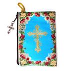 O.L. GUADALUPE TAPESTRY - ROSARY POUCH - 2