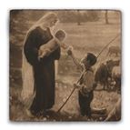 GIFT OF THE SHEPHERD TUMBLED STONE TILE - 1