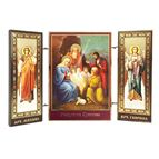 NATIVITY ICON MINIATURE TRIPTYCH - 1