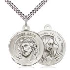 ECCE HOMO & MATER DOLOROSA TWO-SIDED MEDAL - 2