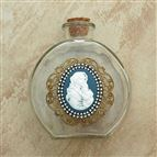 MADONNA AND CHILD VINTAGE HOLY WATER BOTTLE - 1
