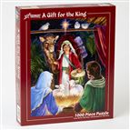 A GIFT FOR THE KING - 1000 PC. JIGSAW PUZZLE - 1