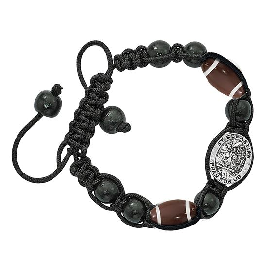 ST. SEBASTIAN SPORTS BRACELET - FOOTBALL