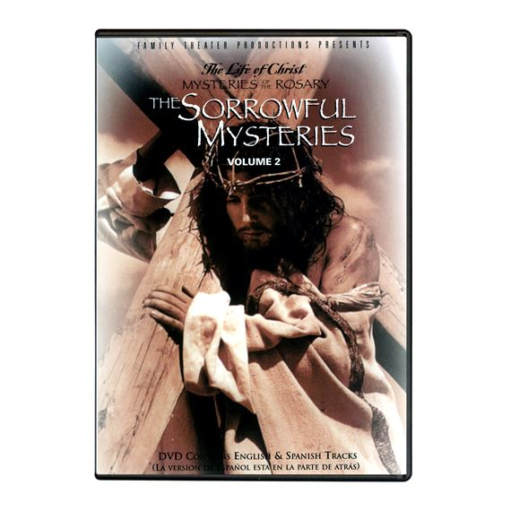 LIFE OF CHRIST: SORROWFUL MYSTERIES DVD
