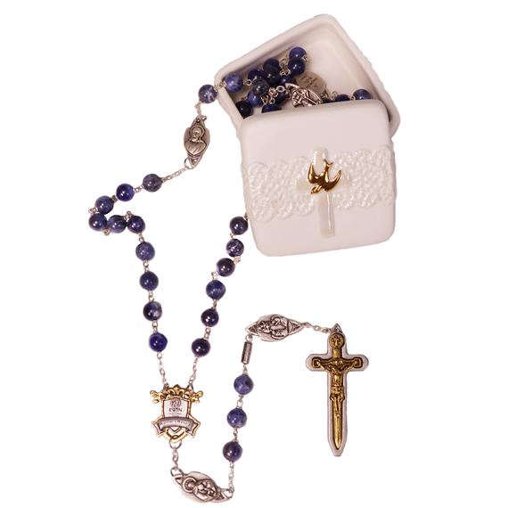 EWTN WARRIOR'S ROSARY WITH FREE HOLY SPIRIT BOX