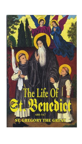 THE LIFE OF ST. BENEDICT - BOOKLET