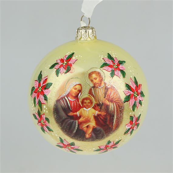 HOLY FAMILY LIFE IS PRECIOUS - ORNAMENT