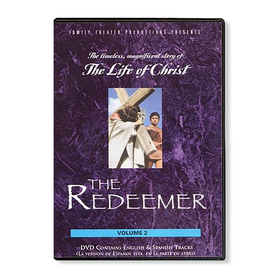 LIFE OF CHRIST - REDEEMER   DVD
