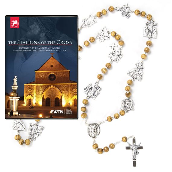 STATIONS OF THE CROSS CHAPLET & DVD SET