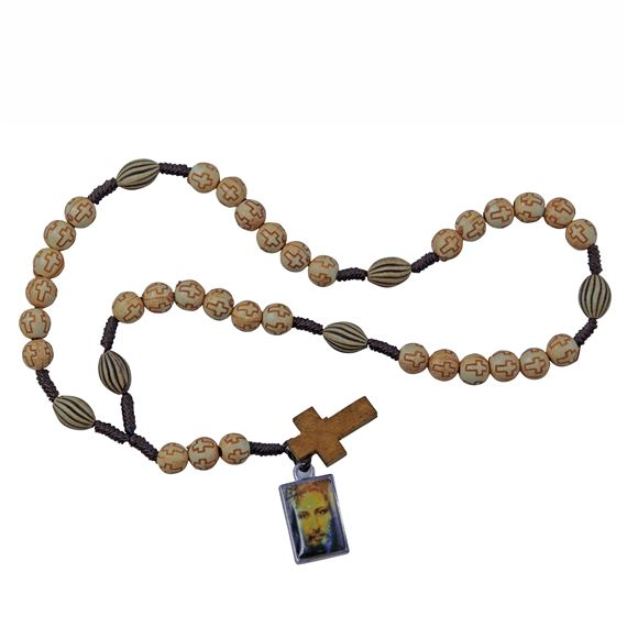 CHAPLET OF THE HOLY FACE - CROSS BEADS