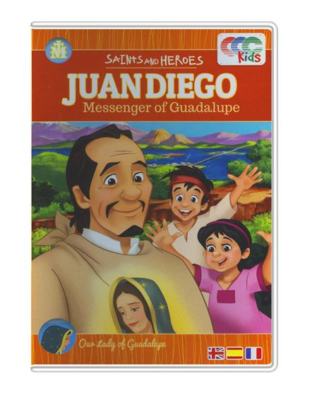 JUAN DIEGO MESSENGER OF GUADALUPE-DVD