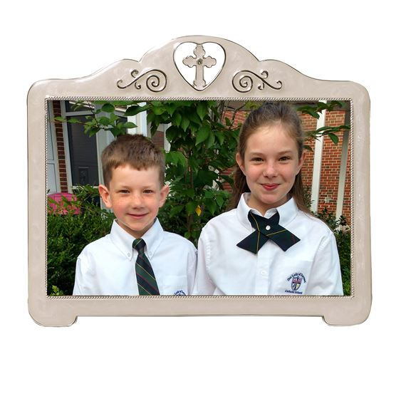 CROSS IN HEART PICTURE FRAME