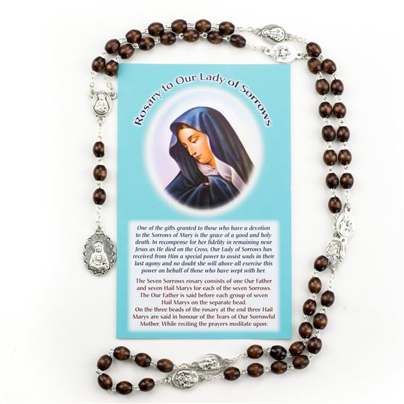 CHAPLET OF THE SEVEN SORROWS OF MARY