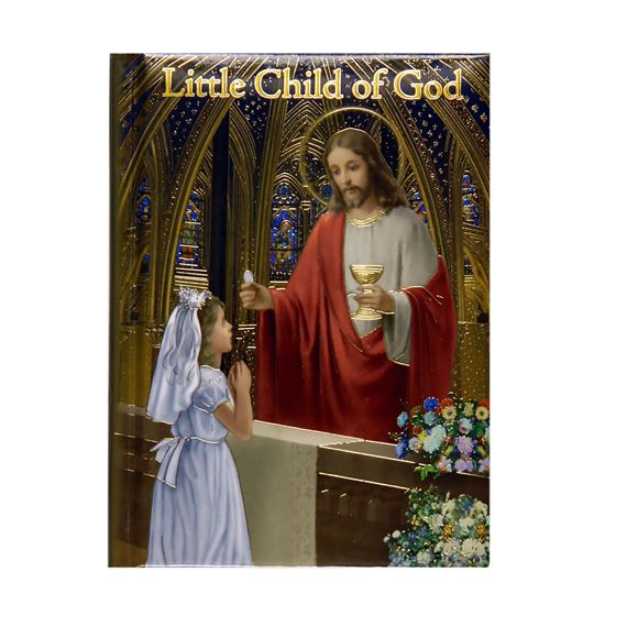 CHILD OF GOD FIRST COMMUNION PRAYER BOOK - GIRL'S