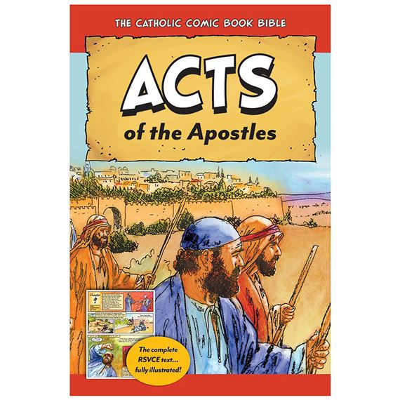 CATHOLIC COMIC BOOK BIBLE: ACTS OF THE APOSTLES