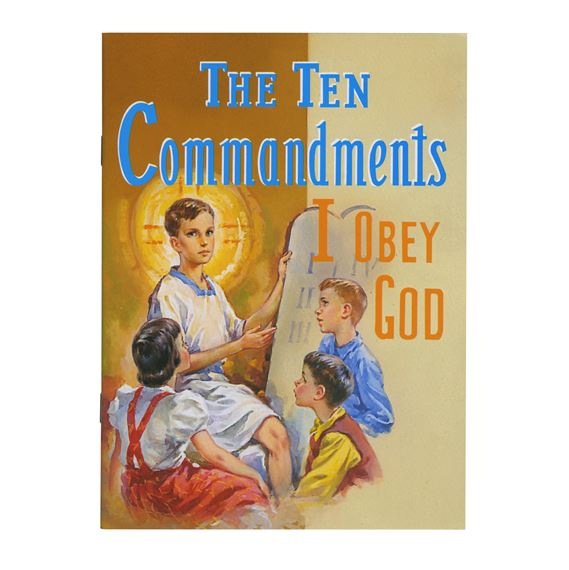 THE TEN COMMANDMENTS - CHILDREN'S BOOK