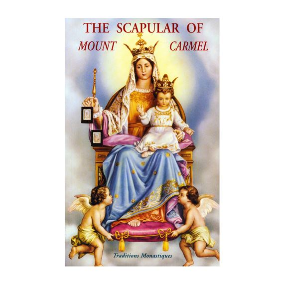 THE SCAPULAR  OF MT. CARMEL BOOK