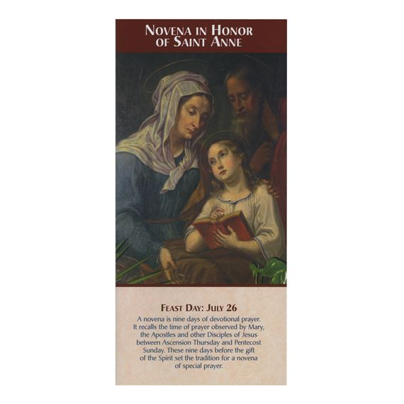 NOVENA IN HONOR OF ST. ANNE