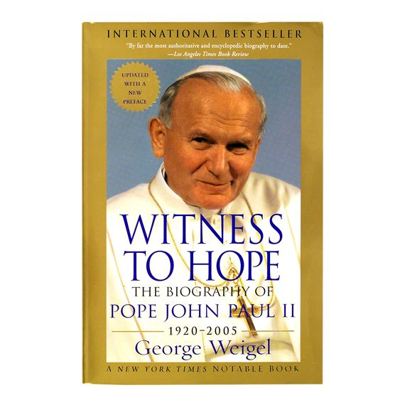 WITNESS TO HOPE:THE BIOGRAPHY OF POPE JOHN PAUL II