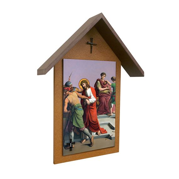 STATIONS OF THE CROSS OUTDOOR SET