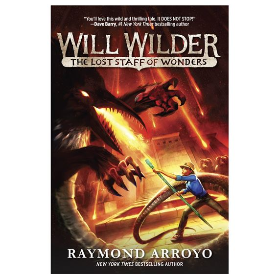 WILL WILDER: THE LOST STAFF OF WONDERS (PAPERBACK)