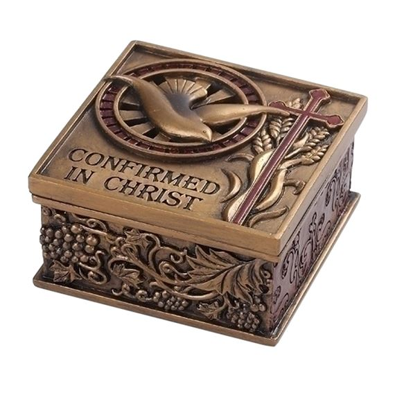 CONFIRMED IN CHRIST - ROSARY BOX
