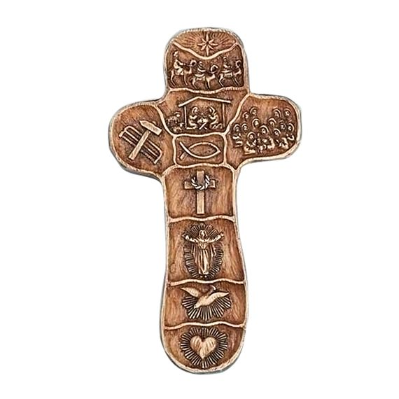 THE CHRIST STORY CROSS