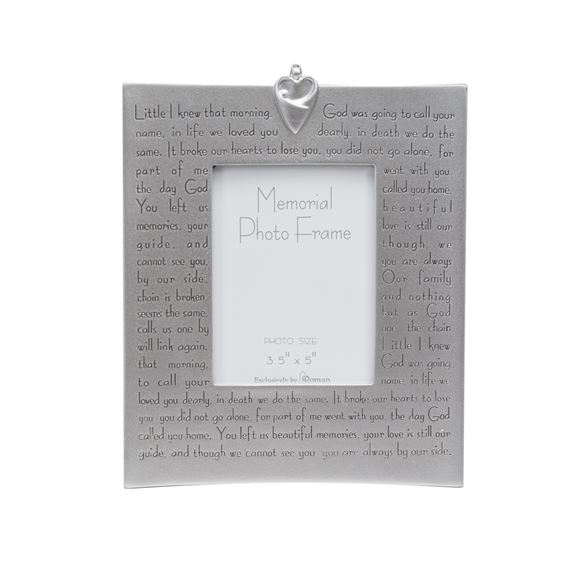 MEMORIAL PICTURE FRAME