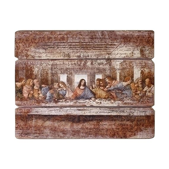 LAST SUPPER - 3 PANEL PLAQUE
