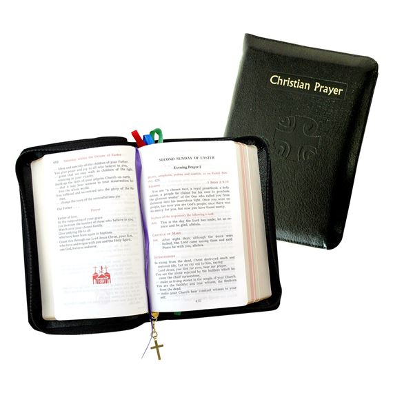 CHRISTIAN PRAYER: LITURGY OF THE HOURS WITH ZIPPER COVER