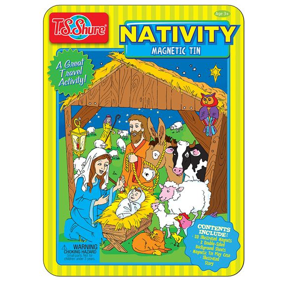 MAGNETIC TIN - NATIVITY