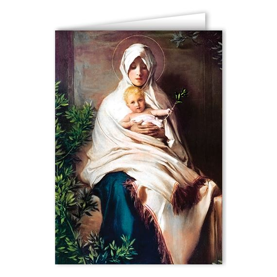 LA MADONNA DELL'OLIVO CHRISTMAS CARDS (BOX OF 25)