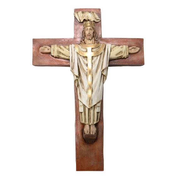 CHRIST THE KING CRUCIFIX - CRISTO REY