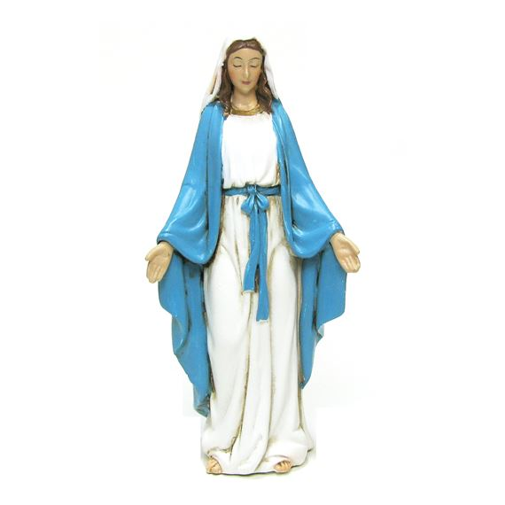 "OUR LADY OF GRACE - 4"" STATUE"
