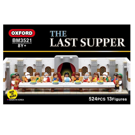 THE LAST SUPPER - 524 PIECE BLOCK SET