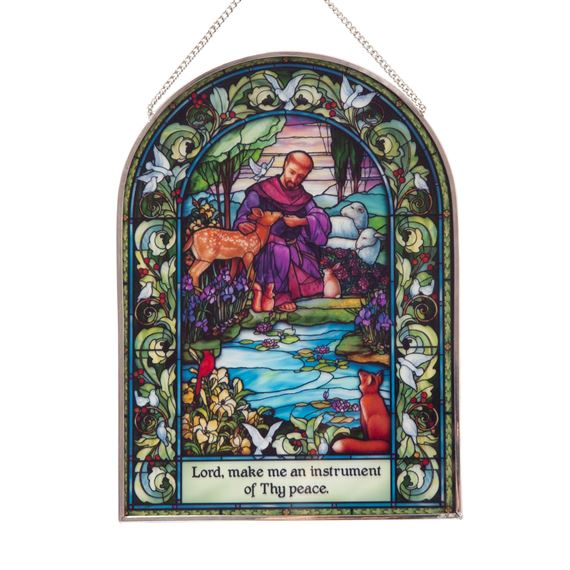 ST. FRANCIS OF ASSISI - DECORATIVE GLASS