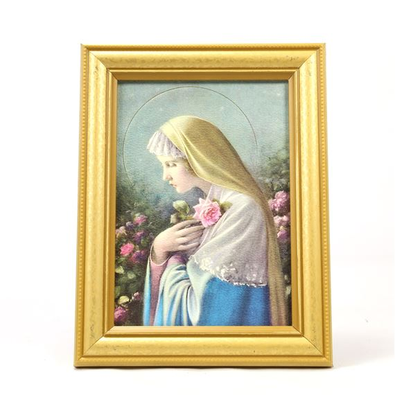 MYSTICAL ROSE WITH EASEL FRAME