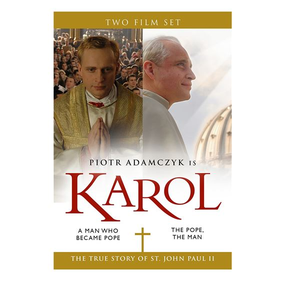 KAROL: A MAN WHO BECAME POPE DVD - COMPLETE SERIES