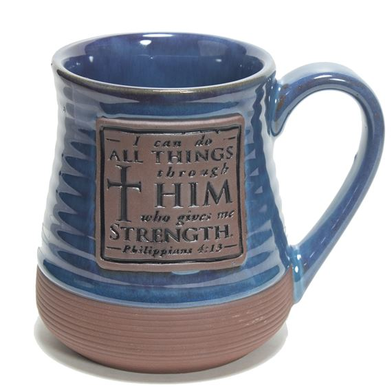 I CAN DO ALL THINGS POTTERY MUG