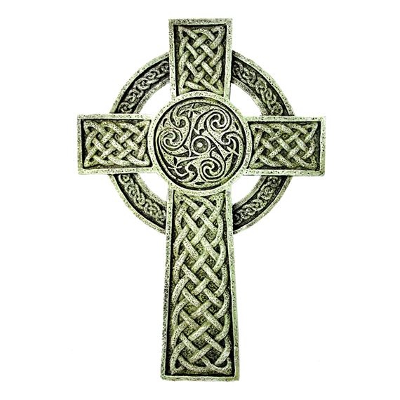 CELTIC WALL CROSS - 9 1/2 INCH