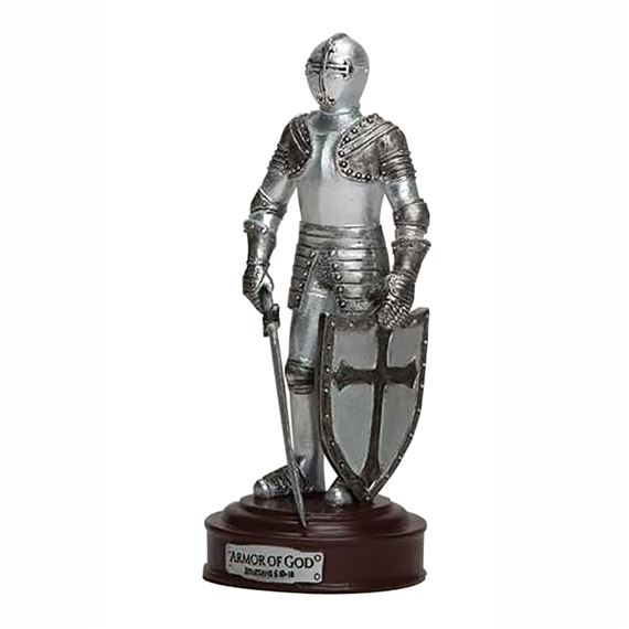 ARMOR OF GOD - KNIGHT FIGURINE