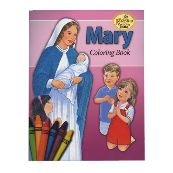 COLORING BOOK ABOUT MARY