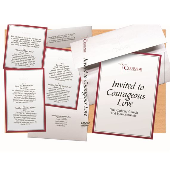 INVITED TO COURAGEOUS LOVE