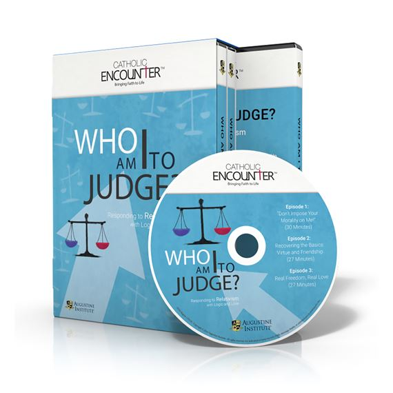WHO AM I TO JUDGE? - DVD SET: 3 DISCS