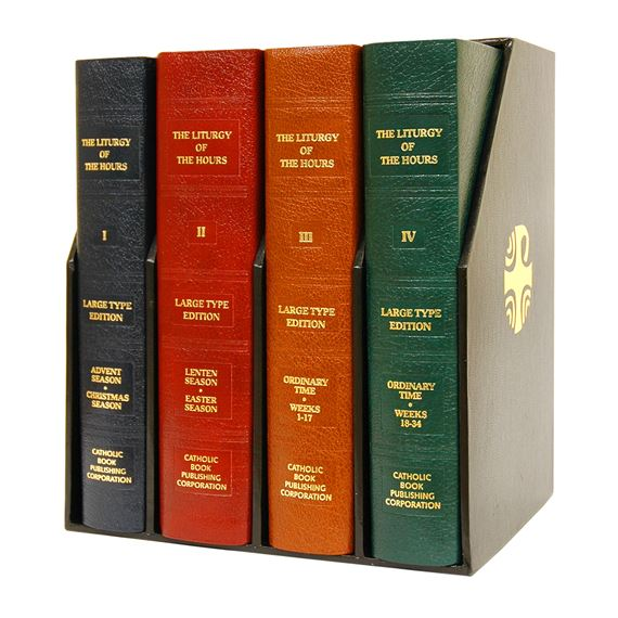 LARGE PRINT 4-VOLUME LITURGY OF THE HOURS
