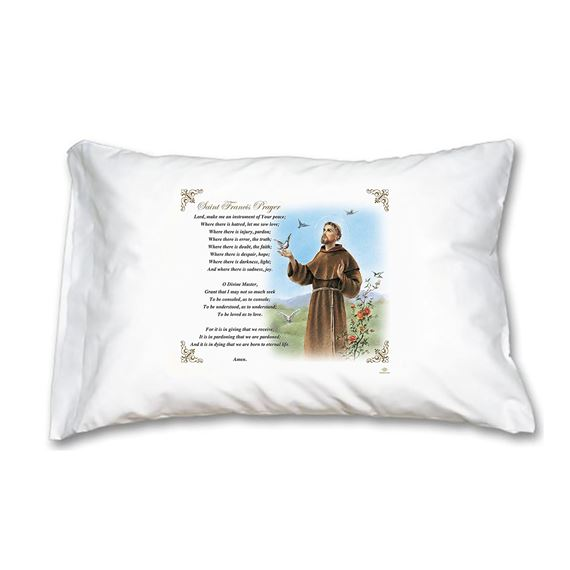 ST. FRANCIS OF ASSISI - PILLOWCASE