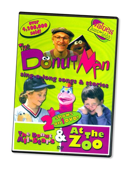 DONUT MAN ALL-STARS & AT THE ZOO - DVD